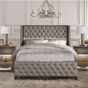 Vaughan Bassett Reflections Queen Storage Bed With Sleigh