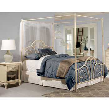 Dover Full Bed Set, Cream