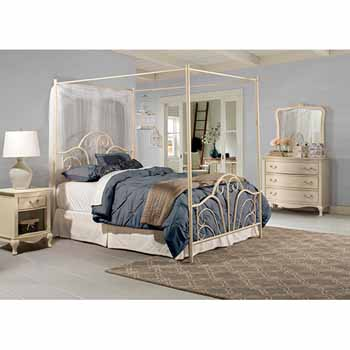King Bed Set, Cream