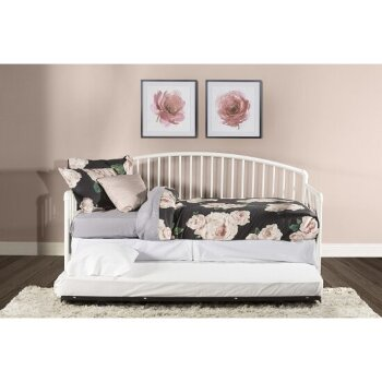 Daybed w/ Deck & Trundle Unit White