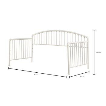 Daybed w/ Deck & Trundle Unit White View 6