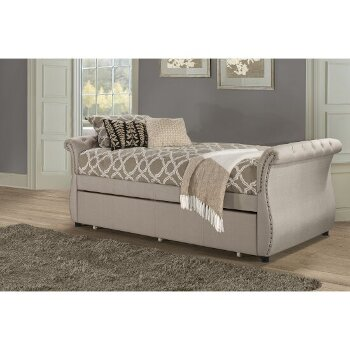 Backless Daybed w/ Trundle Unit