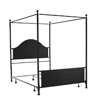 Canopy Bed w/ Metal Bed Rail View 3