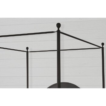 Canopy Bed w/ Metal Bed Rail View 4