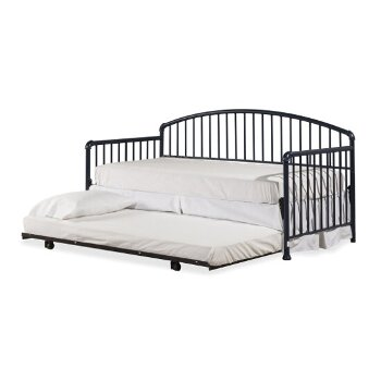 Daybed w/ Deck & Metal Trundle Unit Navy View 3