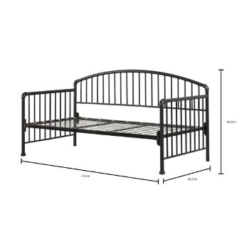 Daybed w/ Deck & Metal Trundle Unit Navy View 5