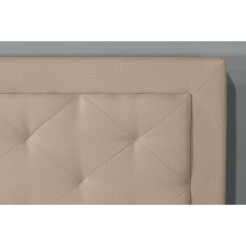 Headboard w/ Headboard Frame Linen Fabric View 3