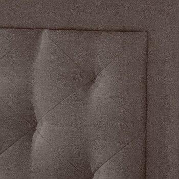 Headboard w/ Headboard Frame Stone Fabric View 3
