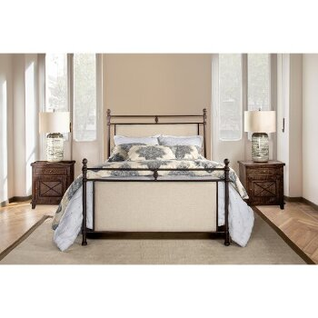 King Size Metal Bed w/ Rails