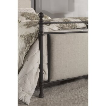 Metal Bed w/ Rails View 7