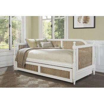 Daybed w/ Trundle Unit White