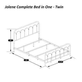 Twin Bed Set Dimensions