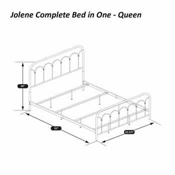 Queen Bed Set Dimensions