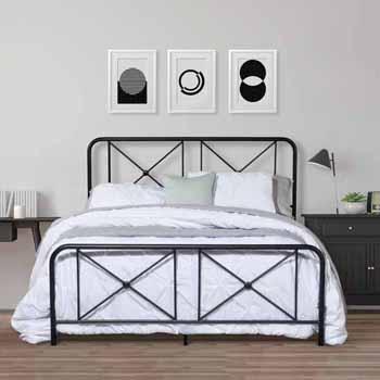Queen Bed Situtational View