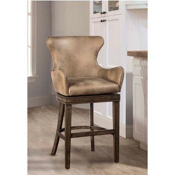 Remarkable Hillsdale Furniture Caydena Swivel Counter Or Bar Stool W Uwap Interior Chair Design Uwaporg