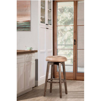Odette Backless Swivel Stool