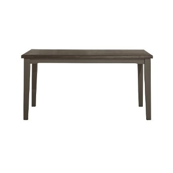 Rectangle Dining Table Distressed Gray Product View
