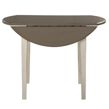 Round Drop Leaf Dining Table Product View 2