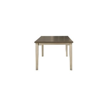 Rectangle Dining Table Sea White Base Product View 5