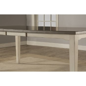 Rectangle Dining Table Sea White Base Product View 8