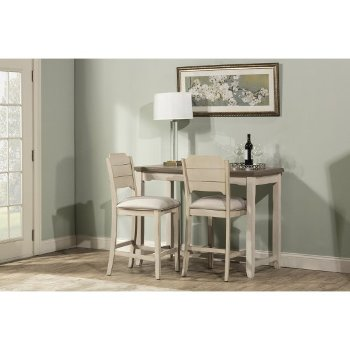 3-Piece Set w/ Open Back Stools Product View
