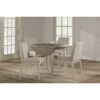 5-Piece Set w/ Upholstered Chairs