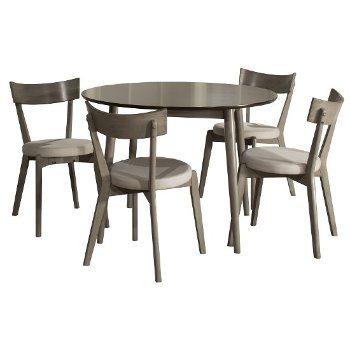 5-Piece Set w/ Curved Back Chairs