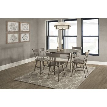 5-Piece Set w/ Spindle Back Chairs