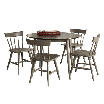 5-Piece Set w/ Spindle Back Chairs Product View