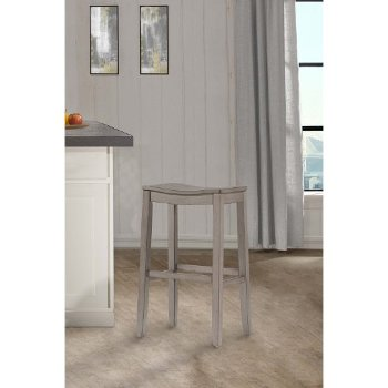 Counter Stool Aged Gray