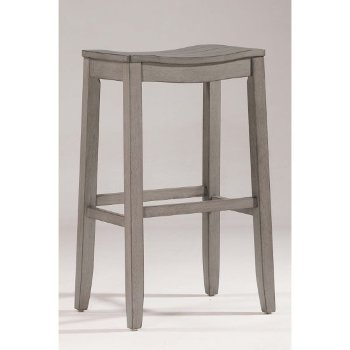 Bar Stool Aged Gray