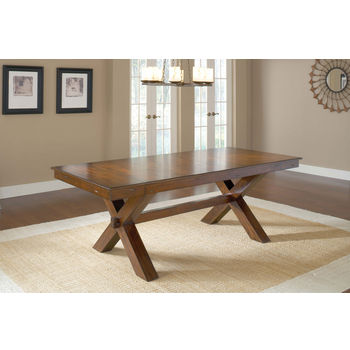 Dining Height Trestle Table