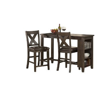 3-Piece Set w/ X-Back Stools Product View