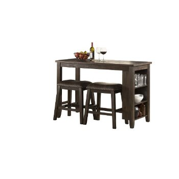 3-Piece Set w/ Backless Stools Product View