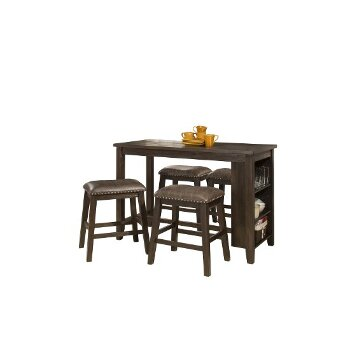 5-Piece Set w/ Backless Stools Product View