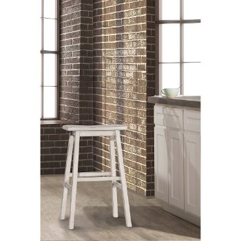 Counter Height Stool Sea White