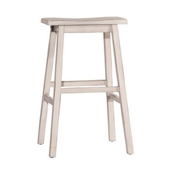 Bar Height Stool Sea White