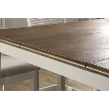 Extension Dining Table Top Close Up