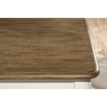 Extension Dining Table Top Close Up 2