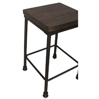 Counter Height Stool Close Up View