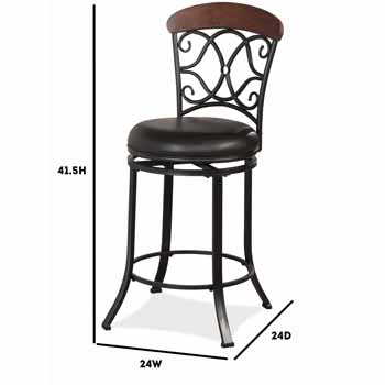 Counter Height Stool - Display View