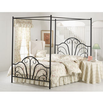 Dover Queen Bed Sed, Black