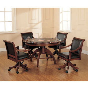 Palm Springs 5-Piece Game Table Set by Hillsdale Furniture