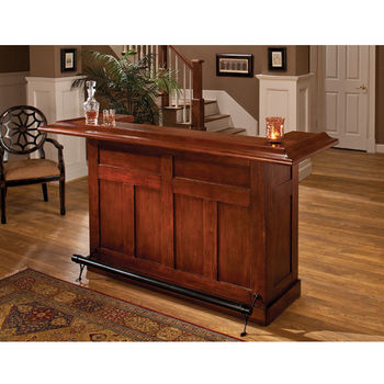 Large Bar & Optional Side Bar by Hillsdale Furniture