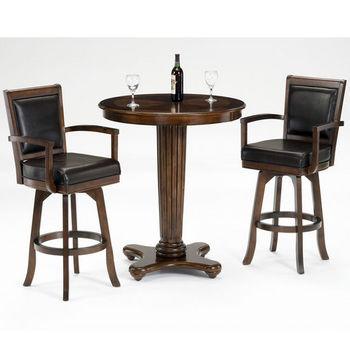 Hillsdale Furniture Ambassador 3-Piece Bar Set
