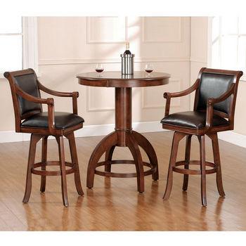 Hillsdale Furniture Palm Springs 3-Piece Bar Set