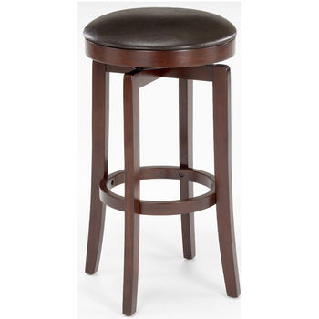 Hillsdale - Malone Backless Counter or Bar Height Stool, Cherry