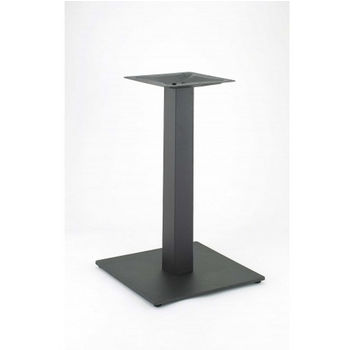Steelbase Nikai Table Base 17 Square With 40 3 4 H Powder Coated Black