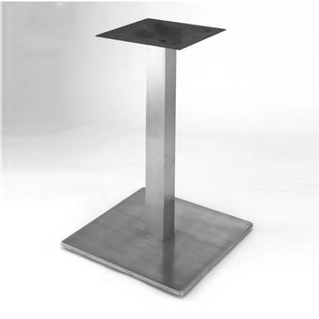 Steelbase Nikai Table Base 18 21 Square With 28 1 5 34 3 4 40 Height
