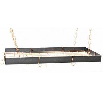 Rogar Gourmet Collection Rectangle Pot Racks with Grid
